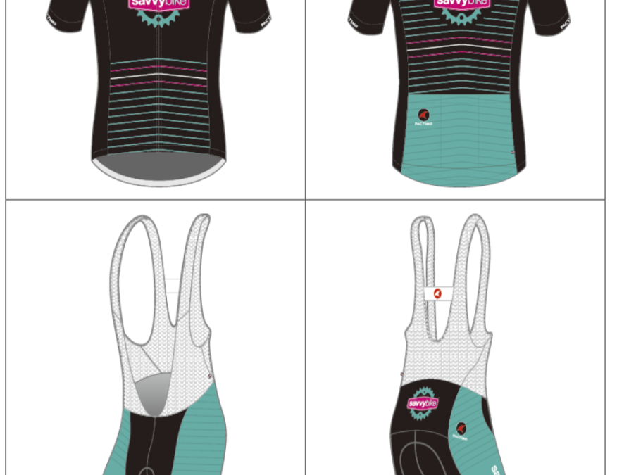 Order your 2016 Savvy Bike Cycling Kit from Pactimo